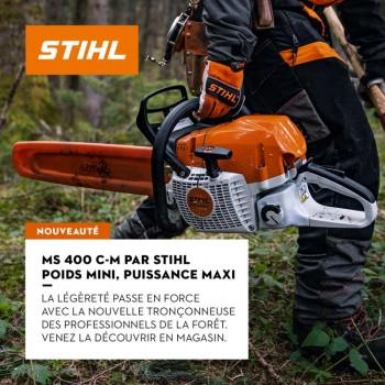 TRONCONNEUSE STIHL MS 400